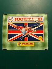 Panini UK football 87 Unopened Sticker Packet, 1987