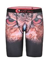 New Ethika Owl Printing Men Underwear Sports Shorts Boxer Pants Size S-XXL