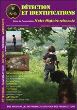 Revue N°1 Association NHR Notre Histoire Retrouvée - identifications détection