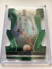 Jamie Vardy 2016 Panini Spectra Soccer DIE CUT GREEN England 4/5