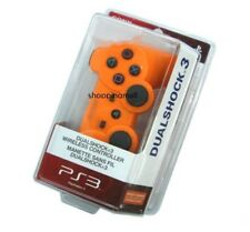 Orange New SixAxis DualShock 3 Wireless Controller For PS3 Plus USB Line Charger