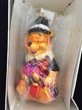 Christopher Radko Christmas Ornament Walt Disney Winnie Pooh Thanksgiving 15899