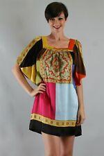 Voom by Joy Han: Women's ELLE TRAPEZE DRESS-(MULTI)-D7902