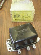 Delco Remy Voltage Regulator 12 vt 1119000 D-411 Buick,Packard,Pontiac,White Tr