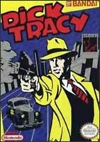 Dick Tracy Nintendo NES Game Used