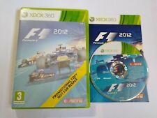 F1 2012-Xbox 360 Juego-PAL Fórmula Uno-Gratis, Rápido P&P!