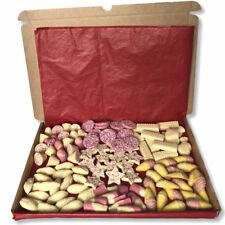 White Chocolate Gift Box Hamper Personalised Traditional Sweets Candy Vegetarian