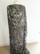 Ethnique/africain style sur polyester mousseline couture tissu