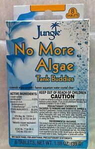 Jungle TB620W Tank Buddies No More Algae Water Clarifier Tablets 8-Count