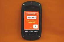 VERIZON, CASIO C771 G'zONE COMMANDO RUGGED SMARTPHONE, CLEAN ESN, SCORCHING
