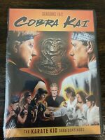 Cobra Kai SEASONS 1 & 2 (DVD Set) The Karate Kid Saga Continues SEALED NEW!