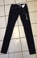 Uniqlo Black Extreme Skinny Jeans Women's New With Tags! Size 24/0