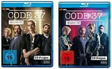 4 Blu-rays * CODE 37 - STAFFEL 1+2 IM SET - zdf_neo ~ FSK 18 # NEU OVP &