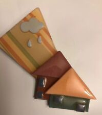 Vintage house pins by lucinda clouds rain and 2 houses