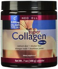 Neocell Super Powder Collagen Type 1 and 3 7 Ounce 7 oz