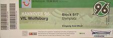 TICKET BL Steh Hannover 96 - VfL Wolfsburg
