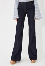 New Theory Demitira 2 D Denim Flare Pant Jeans Size 6 MSRP $275