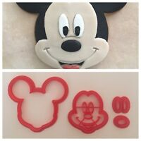 Formine Cookie Cutter 3D Mickey Mouse Topolino Disney Formina Biscotti 9/10cm