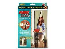 ZANZARIERA MAGIC MESH TENDA ANTI ZANZARE CHIUSURA MAGNETICA CASA UFFICIO 100x200