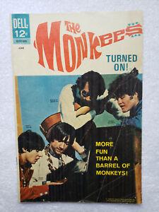 The Monkees #12 (Jun. 1968, Dell) [VG 4.0]