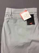 Puma PWR Warm Golf Pants (38 x 32, Gray, Flat, Polyester)(NWT) MSRP $90