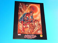 Amazing Spider-Man Lithograph Signed by artist Randy Queen Marvel Comics 1962