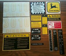 John Deere 3010 Hood Decal Set
