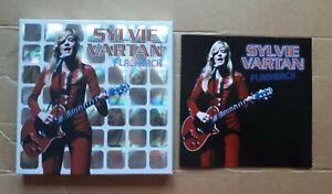 Sylvie Vartan FLASHBACK Coffret Holographique 3CD Best of