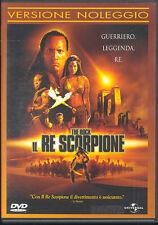 IL RE SCORPIONE - DVD (USATO EX RENTAL)