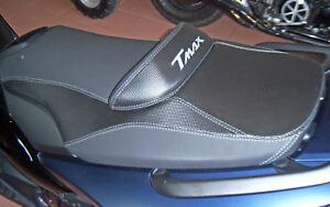 KIT RIVESTIMENTO SELLA per MOTO YAMAHA TMAX T MAX 2008/2011 Carbonio-Antiscivolo