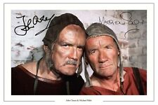 JOHN CLEESE AND MICHAEL PALIN AUTOGRAPH SIGNED PHOTO PRINT MONTY PYTHON