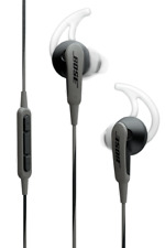 Bose SOUNDSPORT IN-EAR HEADPHONES Suits Samsung & Android Devices CHARCOAL