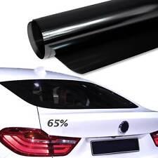 6,14€/m² 76x300cm TÖNUNGSFOLIE Hell Schwarz Black Plus 65% Scheiben Folie Auto