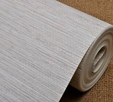 Natural Textured Faux Grasscloth Vinyl Wallpaper Roll TV Room Background