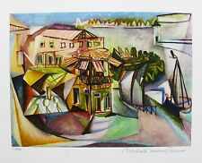 Pablo Picasso CAFE ROYAN Estate Signed & Numbered Small Giclee Art