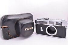 Canon model 7 Leica Screw Mount Rangefinder camera #911664