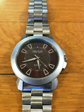 DELTON Watch - Made in INDIA, Quartz, Analog, Collectible, RARE FOREIGN WATCH!