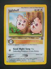 Igglybuff Wizard Black Star Promo Pokemon Card N.36 ENG - Near Mint