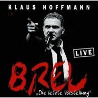 KLAUS HOFFMANN - DIE LETZTE VORSTELLUNG 2 CD 31 TRACKS DEUTSCH-POP NEU