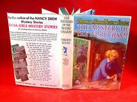 NANCY DREW #13 THE MYSTERY OF THE IVORY CHARM By Carolyn Keene tweed w/DJ