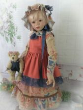 """""""The Vintage Autumn"""" Praire Style Dress For Your Special Himstedt Doll."""
