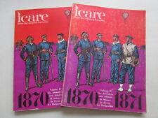 ICARE AVIATION FRANCAISE 77 GUERRE 1870 1871 BALLON DIRIGEABLE AEROSTIER PRESSE