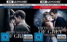 Fifty Shades of Grey 1+2 Set - 4K Ultra HD Blu-ray # 2-UHD+2-BLU-RAY-SET-NEU