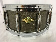 "Pearl Masters MCX 14"" X 6.5"" Deep Snare Drum/Maple Shell/PEWTER GLASS/NEW"