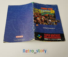 Super Nintendo SNES - Donkey Kong Country 2 - Notice - Instruction Manual - UKV