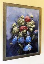 Vase «Hortensias» de nouvelles ORIGINAL ELIZABETH WILLIAMS peinture de fleur de fleurs