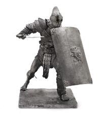 Tin 75mm Rome. Gladiator Secutor 1:24 Scale Miniature