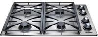 Dacor Renaissance 30 Inch 4 Sealed Burners Liquid Propane Gas Cooktop RGC304SLP