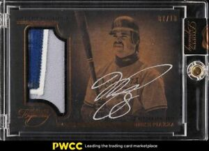 2014 Topps Dynasty Mike Piazza PATCH AUTO /10 #AP-MP11