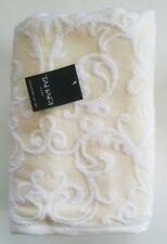 Tahari Bathroom 6 PC Bath Towel Set Medallion Scroll Yellow white floral  new